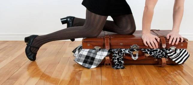 packing pakaian