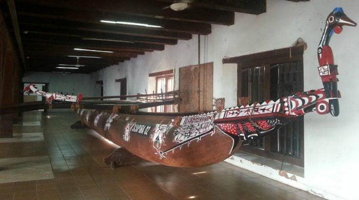 museum bahari jakarta - jukung karere