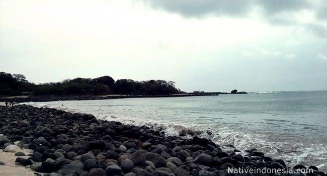 pantai santolo - pelabuhan