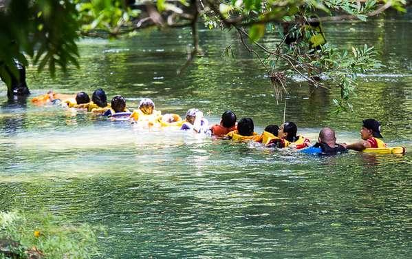 body rafting di citumang pangandaran