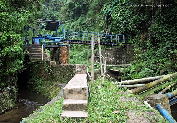 jembatan irigasi - curug tilu leuwi opat