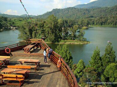 Pinisi Resto Dan Glamping Lakeside Rancabali Bandung; Info Lengkap