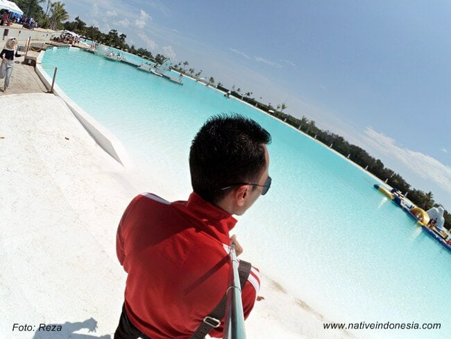 treasure bay bintan - kolam renang crystal lagoon