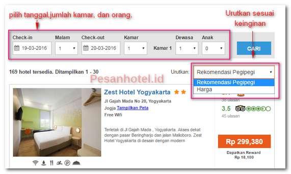 Booking Hotel Di Yogyakarta Tanpa Kartu Kredit