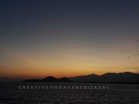 pulau kenawa island sunrise di kenawa