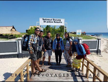 wisata pulau kenawa island