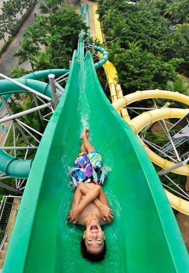 waterboom PIK - waterbom jakarta - speed slide