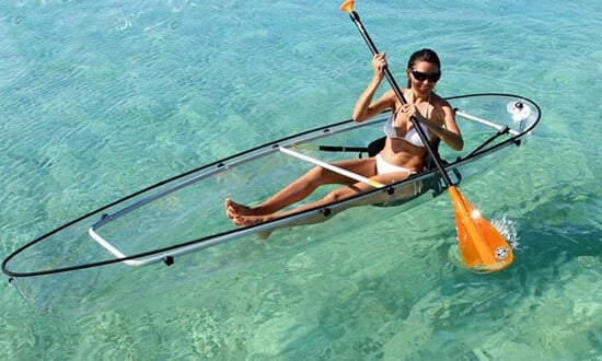 See Through & Clear Bottom Kayaks