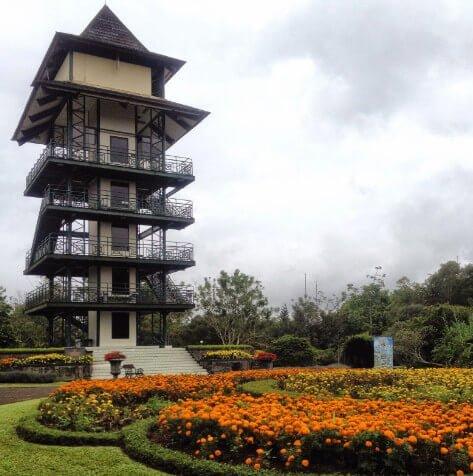 menara pandang taman bunga bogor