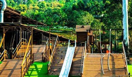 bamboo playground dusun bambu