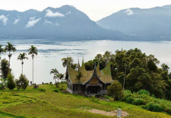 foto gambar danau singkarak