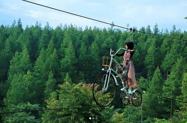 Sky Bike di dago dream park