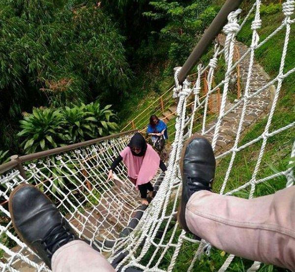 ular tangga di dago dream park