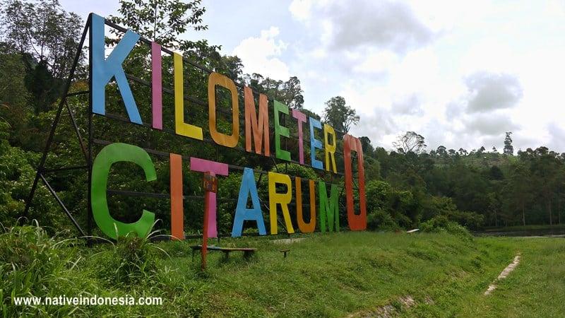 kilometer nol citarum sekarang