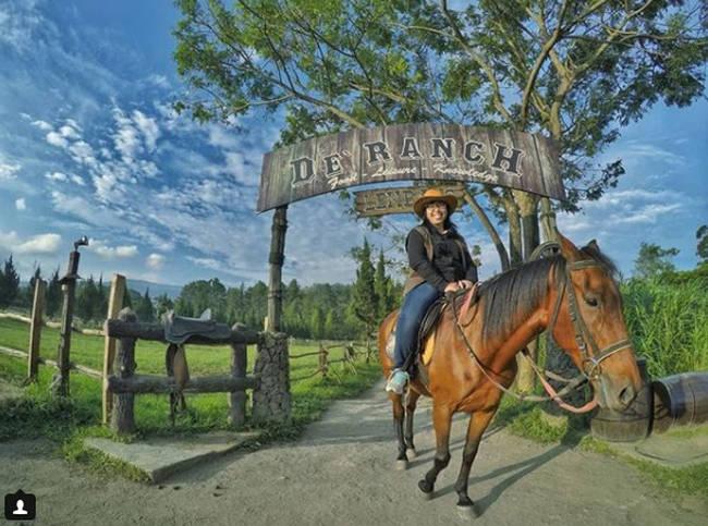 wahana kuda de ranch bandung