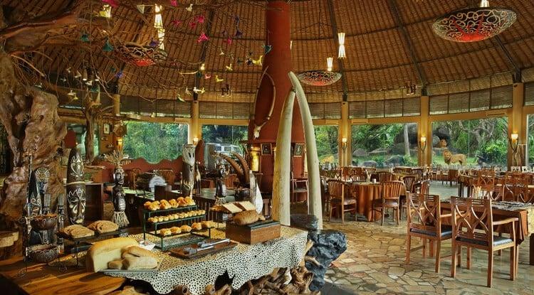restoran di bali safari and marine park
