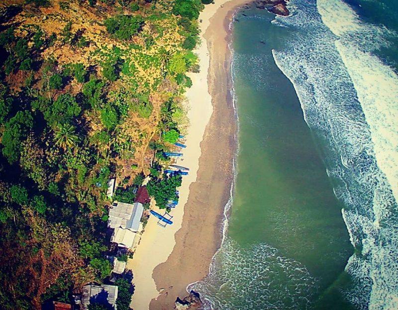 Pantai Nampu Gunungkidul View