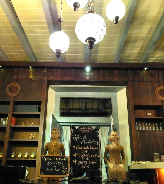 Vredeburg Indische Koffie