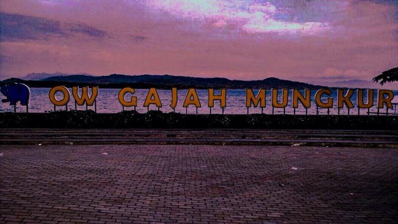 Gajah Mungkur Sign