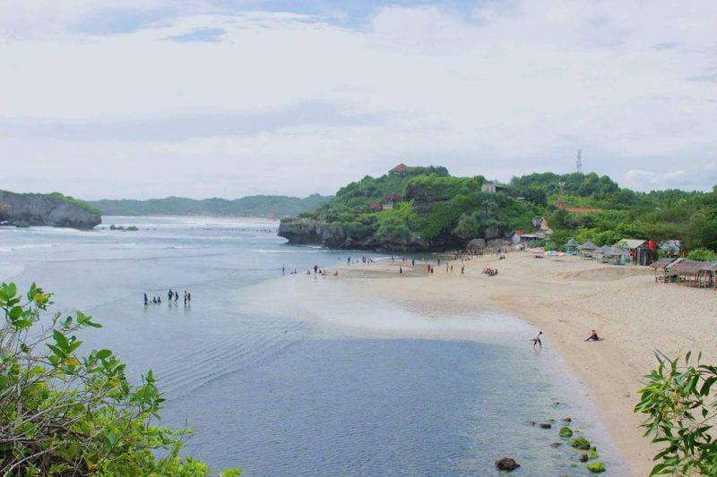Pantai Sundak Aerial View