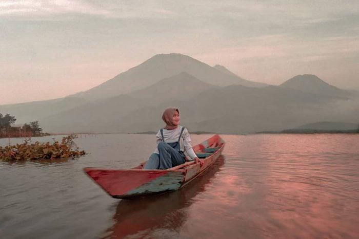 Rawa Pening Lake Beauty