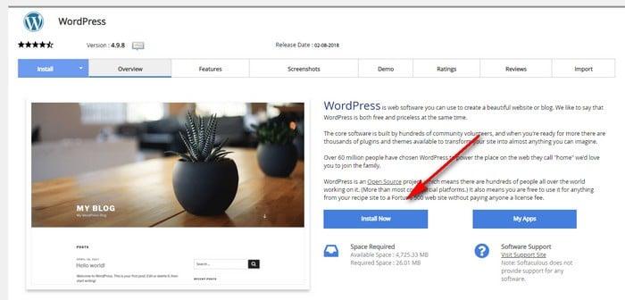 cara install wordpress 2