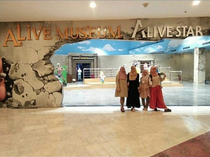 Alive Star Museum Entrance