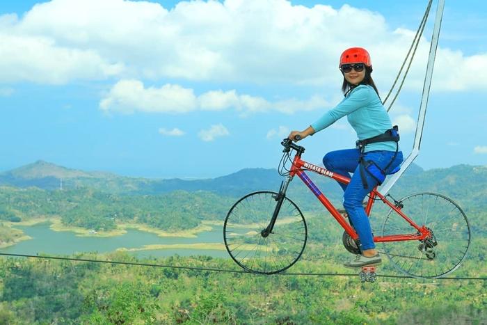 Kalibiru Sky Bike 1
