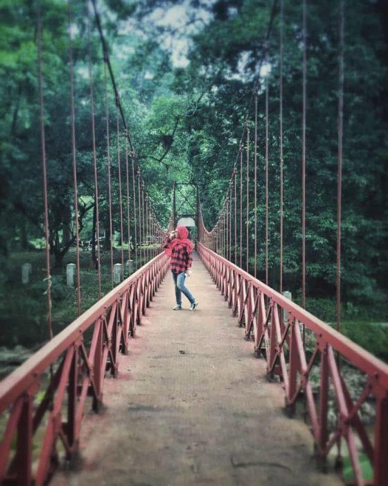 Kebun Raya Bogor Jembatan Merah