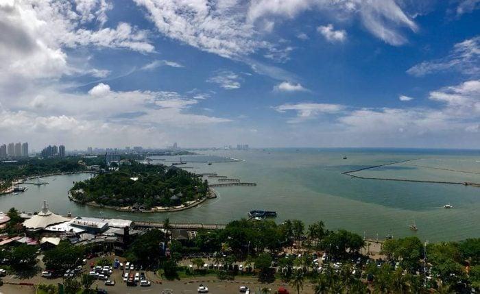 Pantai Ancol Sky View