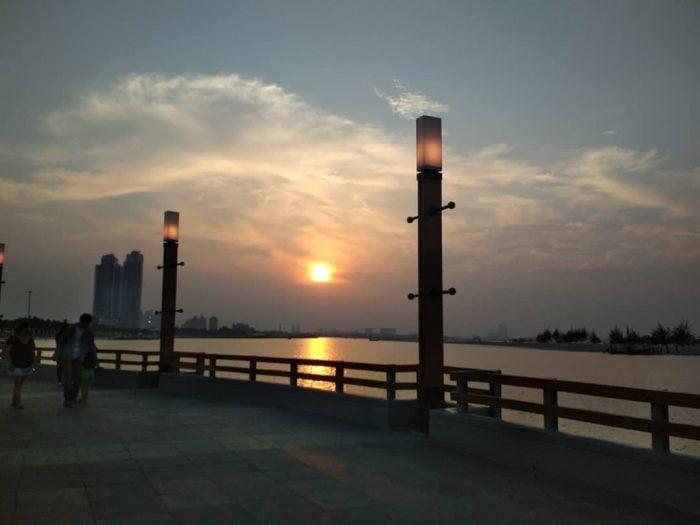 Pantai Ancol Sunset