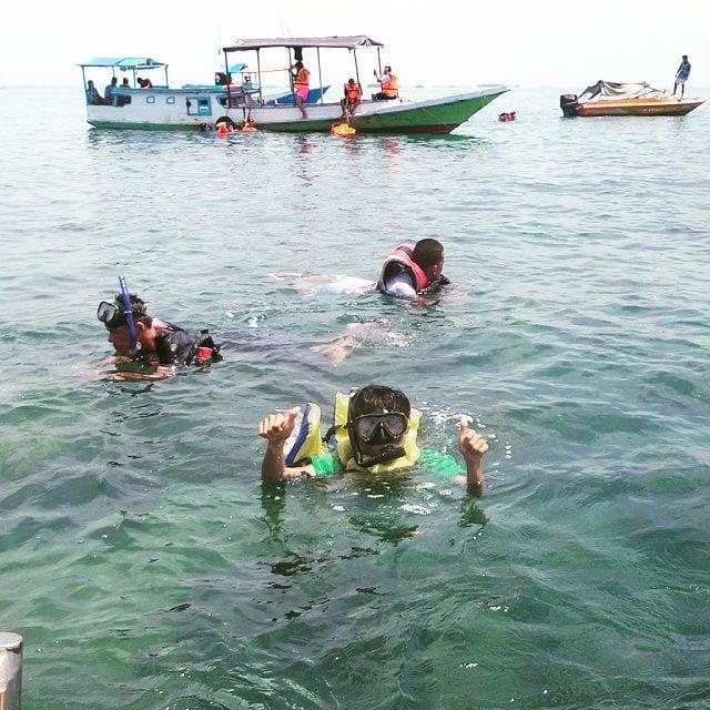 Pantai Angsana Snorkling