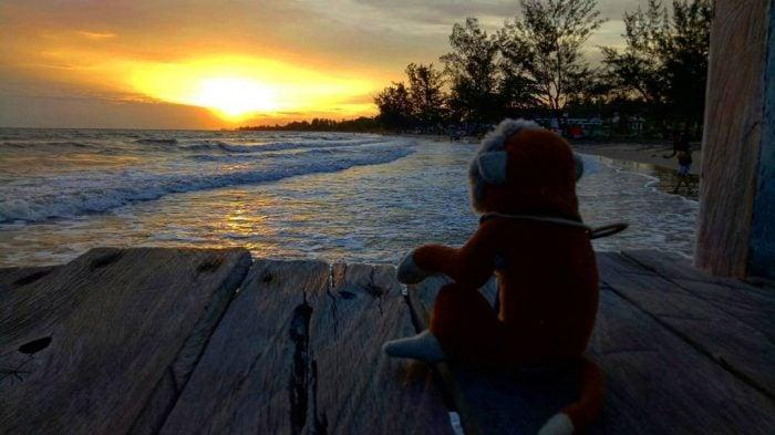 Pantai Angsana Sunset