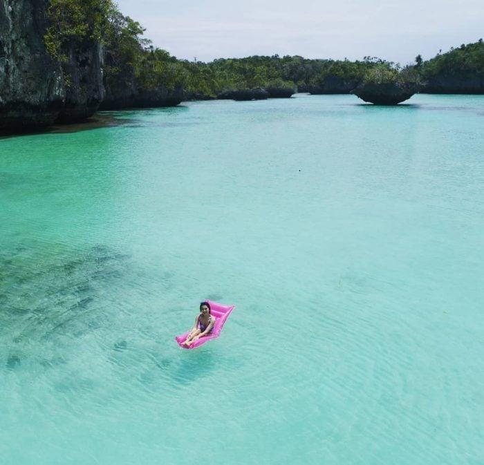 Pulau Bair Calm Sea
