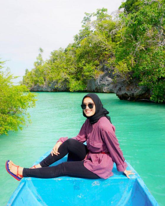 Pulau Bair Green Sea