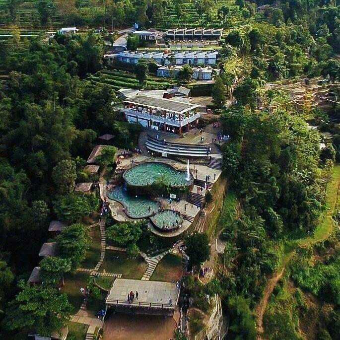 Umbul Sidomukuti Drone View
