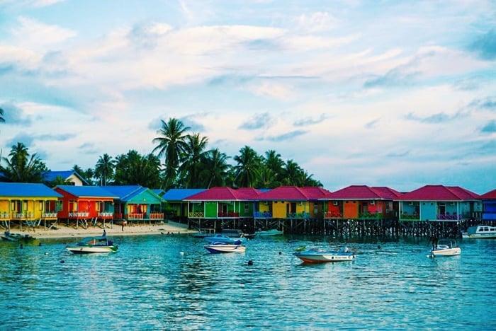 Pulau Derawan Kampung Nelayan