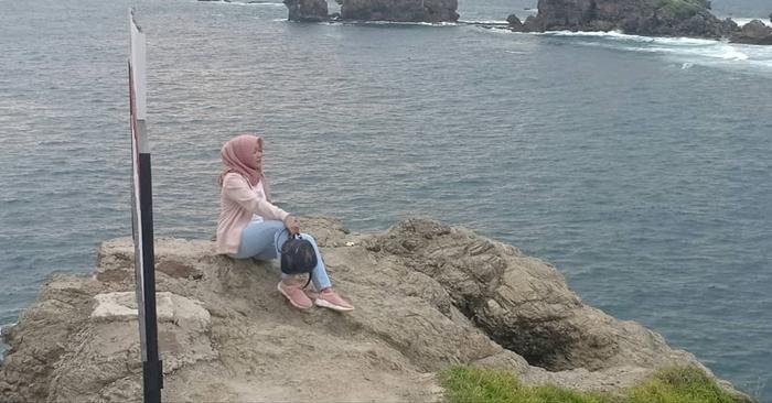 Pantai Siung Laut Luas 1