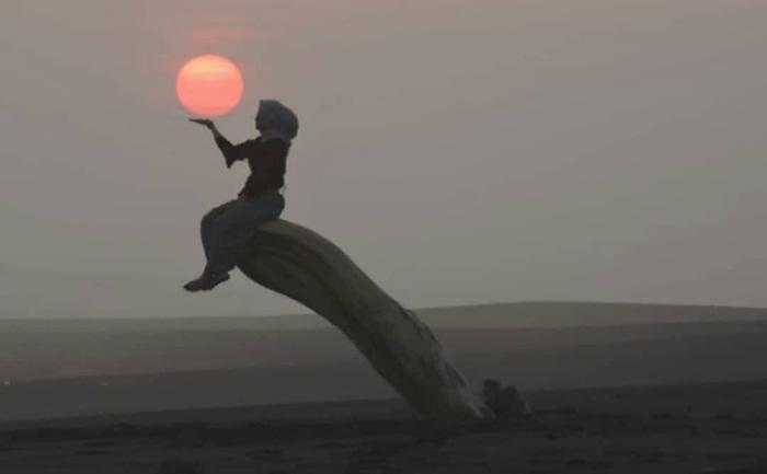 Sunset Pantai Samas Jogja