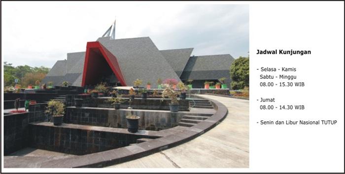 Jadwal buka museum
