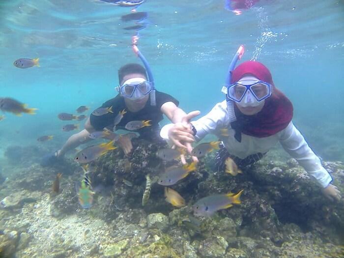 Snorkeling Pantai Sadranan