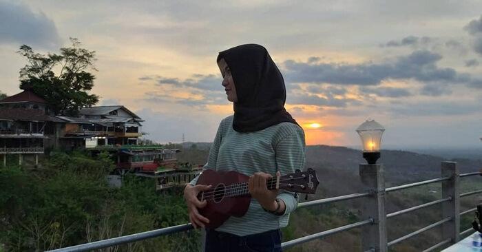 Sunset di Bukit Bintang Jogja.