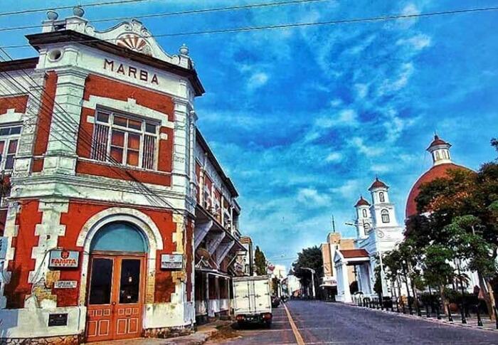 Kota Lama Semarang, Kapsul Waktu di Tengah Kota Semarang