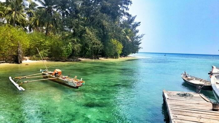 Pantai Pulau Sangiang