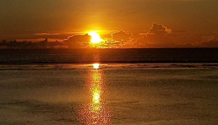 Sunset pantai Ujung Genteng