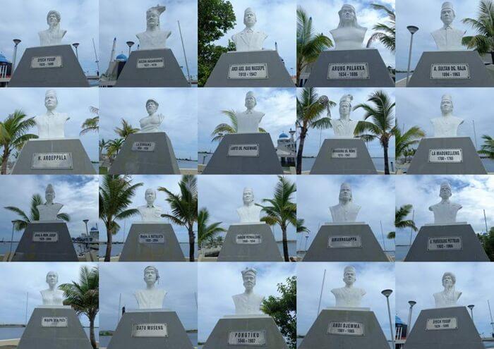 Patung Dada Pahlawan Nasional