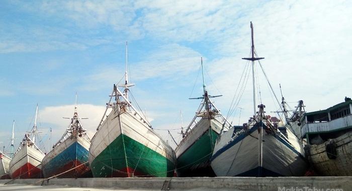 Pelabuhan Sunda Kelapa.
