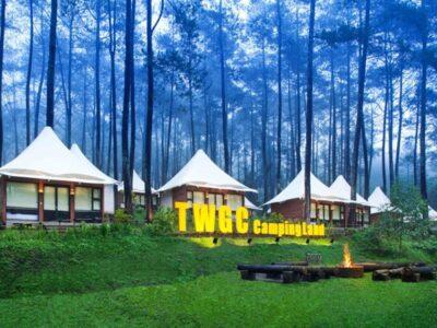 Grafika Cikole, Wisata Karakter Building di Hutan Pinus Bandung