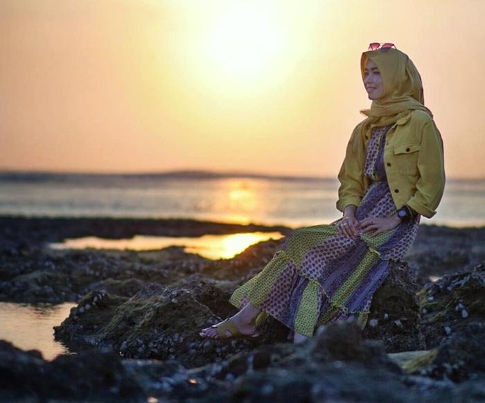 Sunset Pantai Genteng