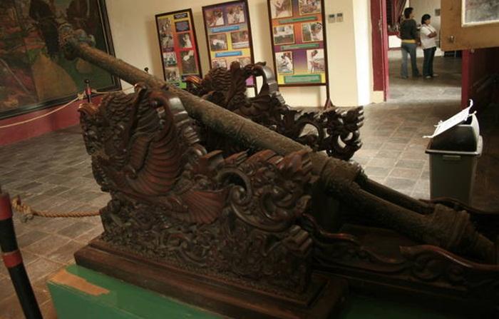 meriam koleksi museum